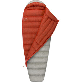 Sea to Summit Flame FmIII Sleeping Bag Women Long light grey/paprika